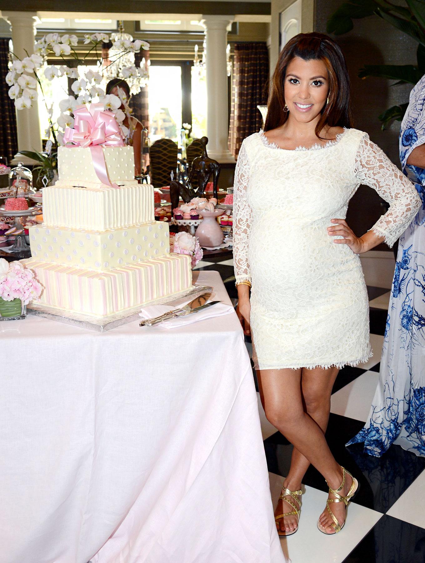Celeb Baby Showers Part - 41: Inside Kourtney Kardashianu0027s Baby Shower!